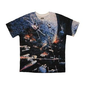 NWT Star Wars Dog Fight Mens Sublimated T-Shirt M